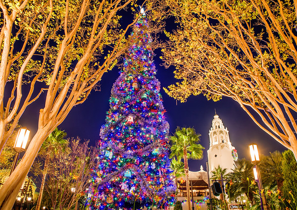 disney california adventure also has phineas and ferb dance party holiday edition which is basically just a dressed up version of the normal show - Disneyland Christmas Decorations