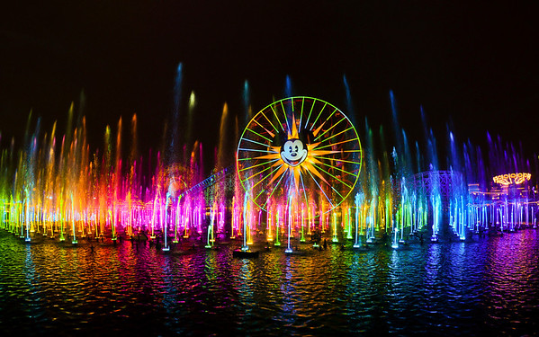 Disneyland ResortDisney California AdventureWorld of ColorOne of Steve Davison's masterpieces, World of Color is a really amazing show. Read more: http://www.disneytouristblog.com/tag/world-of-color/