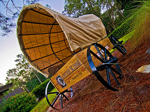 Fort Wilderness is really a beautiful resort, with some of the last vestiges of the