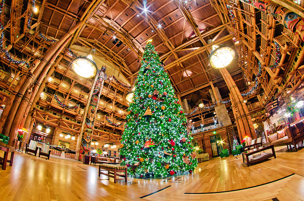 Disney's Wilderness Lodge = Best Resort for a Christmas trip! Wilderness Lodge Review: http://www.disneytouristblog.com/disneys-wilderness-lodge-review/
