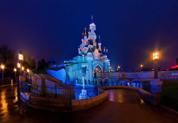 Le Chateau de la Belle au Bois Dormant at Disneyland Paris. Hundreds of Disneyland Paris photos in our trip report! http://www.disneytouristblog.com/disneyland-paris-2012-trip-report/