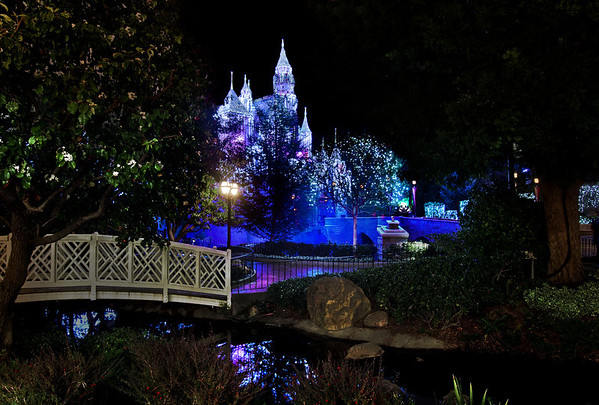 Disneyland ResortDisneyland (park)Sleeping Beauty's Winter CastleI love this bridge and the stream off to the side of Sleeping Beauty Castle. Makes it feel even more quaint! For more tips, information, and photos of Disneyland, visit my blog: http://www.disneytouristblog.com/