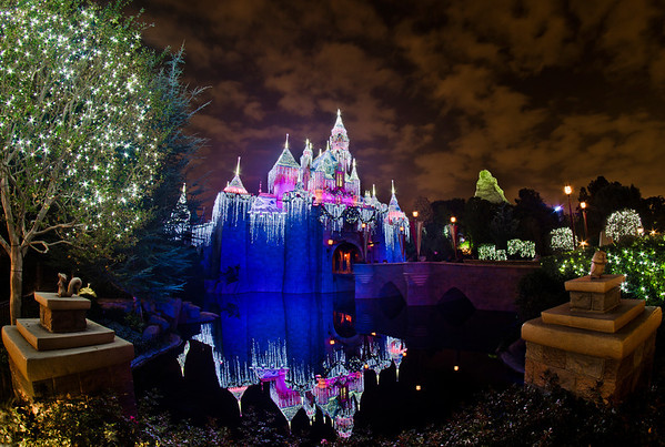 Disneyland ResortDisneyland (park)Sleeping Beauty's Winter CastleIs it odd to anyone else that the names of the various Disney castles are not normally possessive (i.e. the correct name is Cinderella Castle, not Cinderella's Castle), but the name for the Christmas