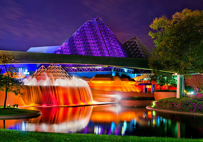 Journey into Imagination at night!
