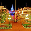 Walt Disney World Resort Magic Kingdom Christmas on Main Street, USA  Here's an empty Main Street USA in the Magic Kingdom during Christmas season. Have you ever seen Main Street with no one on it?!   For more photos and information about Christmas at Walt Disney World, check out my Walt Disney World Ultimate Christmas Guide