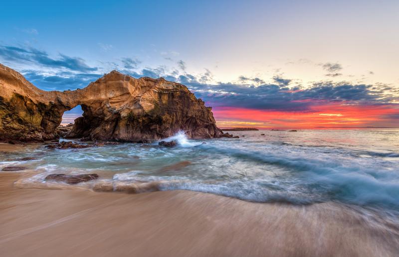 California Beaches Lagunas Pearl Street Beach