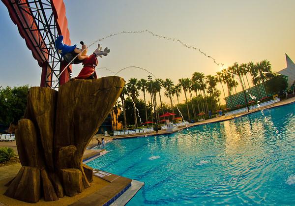 Image result for disney world hotels pools