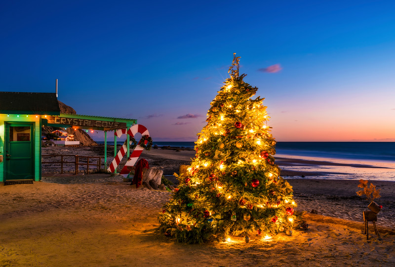 California Christmas.Merry Christmas From Crystal Cove Travel Caffeine